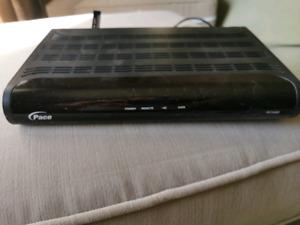 COGECO Pace dc550 hd receiver remote control.  activation is guaranteed