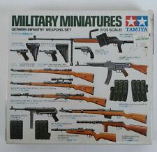 Tamiya Military Miniatures German Infantry Weapons Set 1/35 Kit 35111 Sealed