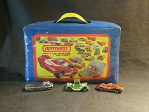LOT OF 3 RED LINE HOT WHEEL CARS & 23 REGULAR CARS ~ MATCH BOX ~ COLLECTOR CASE