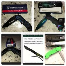 Large Lot Of Knives - Storm Chaser, Smith And Wesson, Green Beret, Tailwind