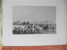 Vintage Print,VIEW OF CALCUTTA,Esplanada,#1,London,Print+Pub