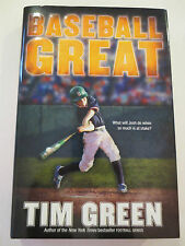Baseball Great by Tim Green Signed (2009, Hardcover)