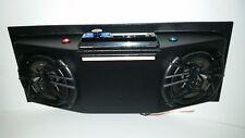 Golf Cart UTV Overhead Stereo Radio Console with Bluetooth! & Tarantula Speakers