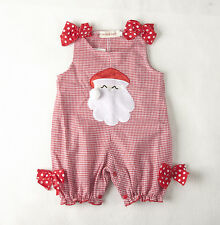 9-12 Months Baby Boy Girl Christmas Romper Jumpsuit Playsuit Outfits Clothes