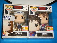 SDCC 2018 FUNKO FUNDAYS POP! STRANGER THINGS SCOOPS AHOY ROBIN & STEVE (LE 1800)