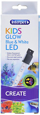 Interpet Kids Glow White and Blue LED Light for Aquarium