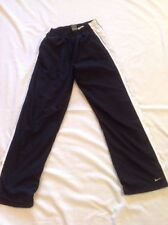 Nike Women's Sz M Medium 8–10 Track Pants Lined Inseam 31 Inches Black