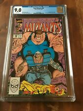 New Mutants #88 CGC 9.0 White Pages 2nd Appearance Cable Liefeld/McFarlane Cover