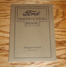 1927 Ford Car Instruction Book Owners Operators Manual 27