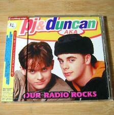 Pj & Duncan - Our Radio Rocks JAPAN CD W/OBI #O01
