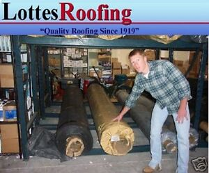 10' x 35' 60 MIL BLACK EPDM RUBBER  ROOF ROOFING