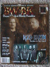 BRAVE WORDS & BLOODY KNUCKLES MAGAZINE # 77  2004 ICED EARTH DEICIDE PROBOT