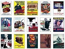 Steve McQueen Film Poster Trading Card Set
