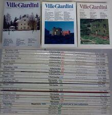 Ville Giardini - numeri dal 1984 al 1991