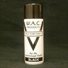 12 VHT Black Spray Paint  400ml Very High Temp Stove Paint Exhaust-Stove-BBQ