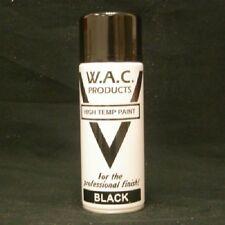VHT Nero Vernice Spray 400ml grande stufa molto alta Temp Paint DI SCARICO-STUFA-BBQ