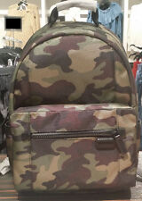 Michael Kors Mens Travis Nylon Backpack Limited Edition Camouflag  Army Kent NWT