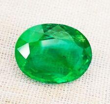 Natural Emerald oval IGI Certified 6.49cts Zambian Loose Gemstone