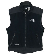 The North Face Mens Black Full Zip Vest Size Medium Gore-Windstopper