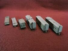TT SCALE H.P. PRODUCTS PENNSYLVANIA MOW WORK TRAIN 6-CAR SET - KIT BUILT
