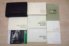 HONDA ACCORD SALOON 2008-2011 Owners Manual Handbook + SERVICE BOOK with Wallet