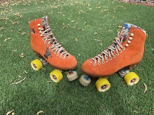 Moxi Lolly Clementine Rollerskates Size 6 (W7)