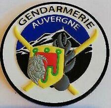 Patch insigne pvc gendarmerie  Auvergne 63 Puy-de-Dôme vercingétorix