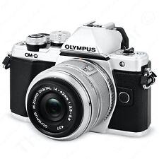 Olympus OM-D E-M10 Mark II Digital Camera 14-42mm Lens V207051SU000 Silver