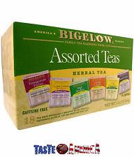 Bigelow Assorted Herbal Teas 18 Tea Bags 29g 6 Flavours