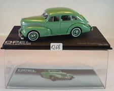 Opel Collection 1/43 Opel Kapitän 38 grün 1938 - 1940 in Plexi Box #1268
