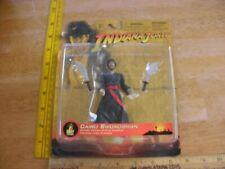 "Indiana Jones Disney Theme Park Edition action figure Cairo Swordsman 2003 4.5"""