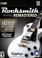 New Rocksmith 2014 Edition Remastered for (PC DVD Games) with Real Tone Cable