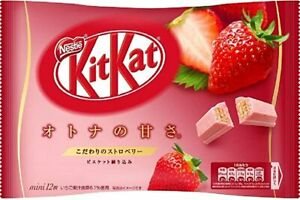Nestle Japanese Kit Kat Strawberry Flavor Limited Edition - US Seller