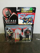 BATMAN THE ANIMATED SERIES NINJA POWER PACK BATMAN AND ROBIN  KENNER 1994  MOC