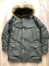 Woolrich Arctic Parka DF, Gr. XL, Dunkeloliv, Pelz: Coyote, Neuwertig/ungetragen