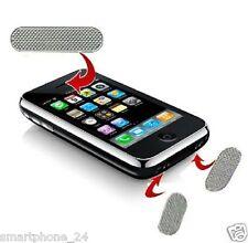 1 set iphone 3G 3GS Gitter Abdeckung Staub Schutz Hörer Sticker Grill Chrome