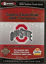 The Ohio St 2004 Tostitos Fiesta Bowl Football DVD- Ohio State Buckeyes