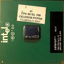 CPU Intel 700 celeron 700mhz socket 370 pc computer