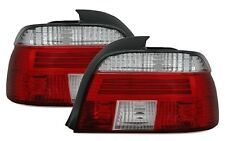 FEUX ARRIERE BMW SERIE 5 E39 BERLINE 95-00 525TDS BLANC ROUGE CRISTAL LOOK M