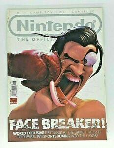 2008 June Issue 30 The Official Nintendo Magazine Face Breaker! DS Wii Game Boy