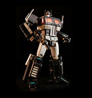"KBB Downsized Masterpiec G1 Optimus Prime Metal Version 8"" Black"