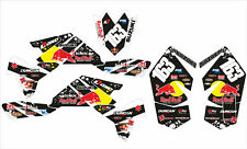 BULL Decalcomania Sticker Kit in Vinile MX Si Adatta Suzuki LTR 450 LTR450 R (Non OEM) 06-16
