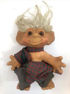 DAM THINGS Vintage Troll Doll 1964 12 Inch - Dirty