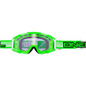 O'NEAL B2 360 GOGGLE BRILLE MTB DOWNHILL MOTOCROSS BMX RACE ENDURO FREERIDE GRÜN