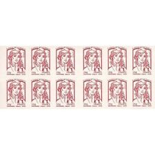 CARNET MARIANNE ROUGE DE CIAPPA 12 TIMBRES