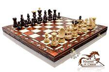 Amazing Original AMBASSADOR DE LUX Premium Quality Extra Large Wooden Chess Set!
