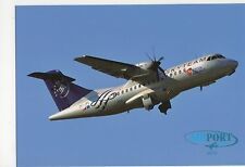 CSA ATR 42 Aviation Postcard, B007