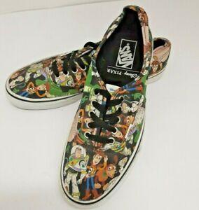 Vans Shoes Disney Pixar Toy Story Buzz  'Andy' Size UK 9 US 10 EU 43  VGC