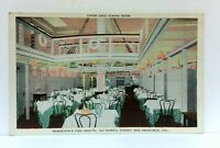 San Francisco CA Bernsteins Fish Grotto Upper Deck Dining Room Vintage Postcard