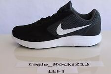 Amputee Single LEFT Only Shoe Sneakers Wide 4e Size 10 Nike Grey White Black NEW